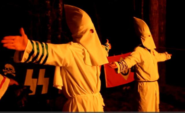 'Still a racist nation': American bigotry on full display at KKK rally in South Carolina