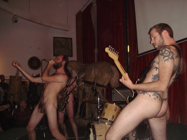Women in rock bands nude with