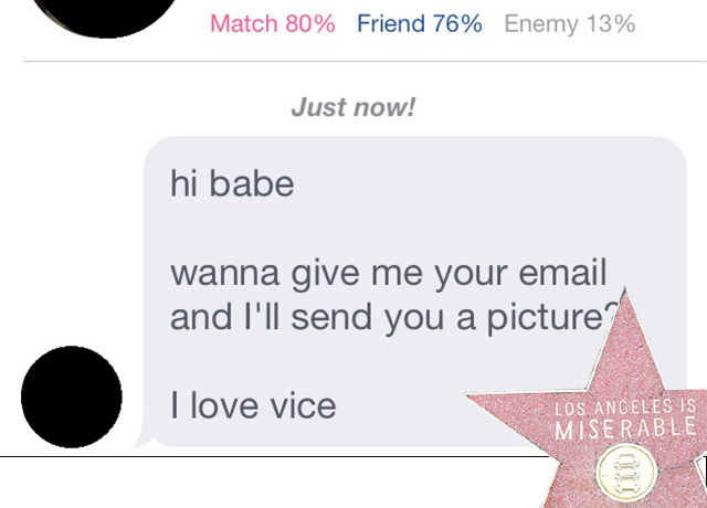 Vice online dating lies