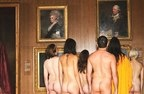 Fotos de Naked People in an Art Museum