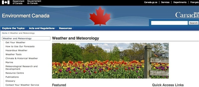 The Canadian Government Has Forbidden Meteorologists to ...
