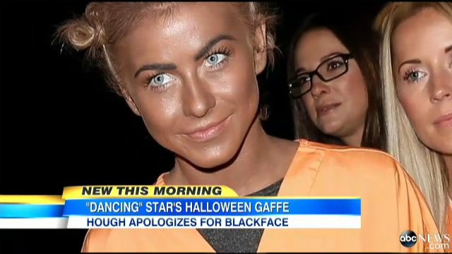 Racist celebrity costumes for halloween
