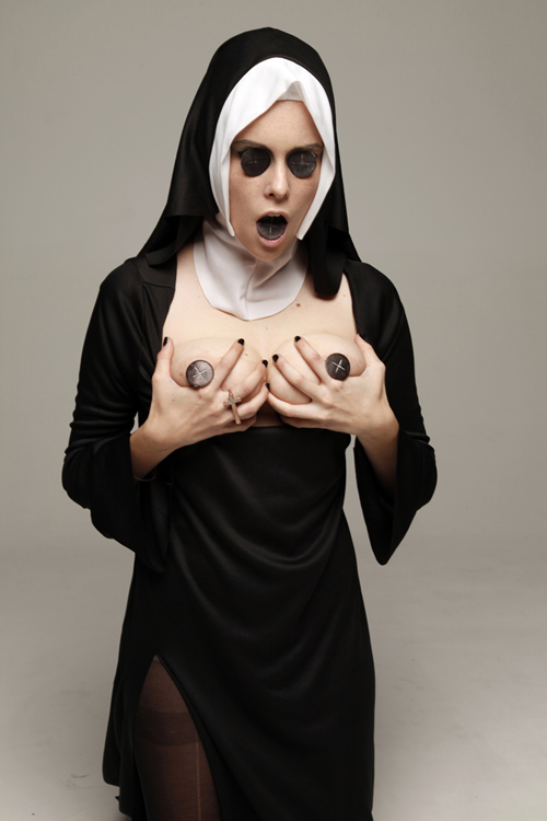 Nun likes to watch