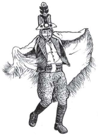 Mmens pantalones de gallo abultado