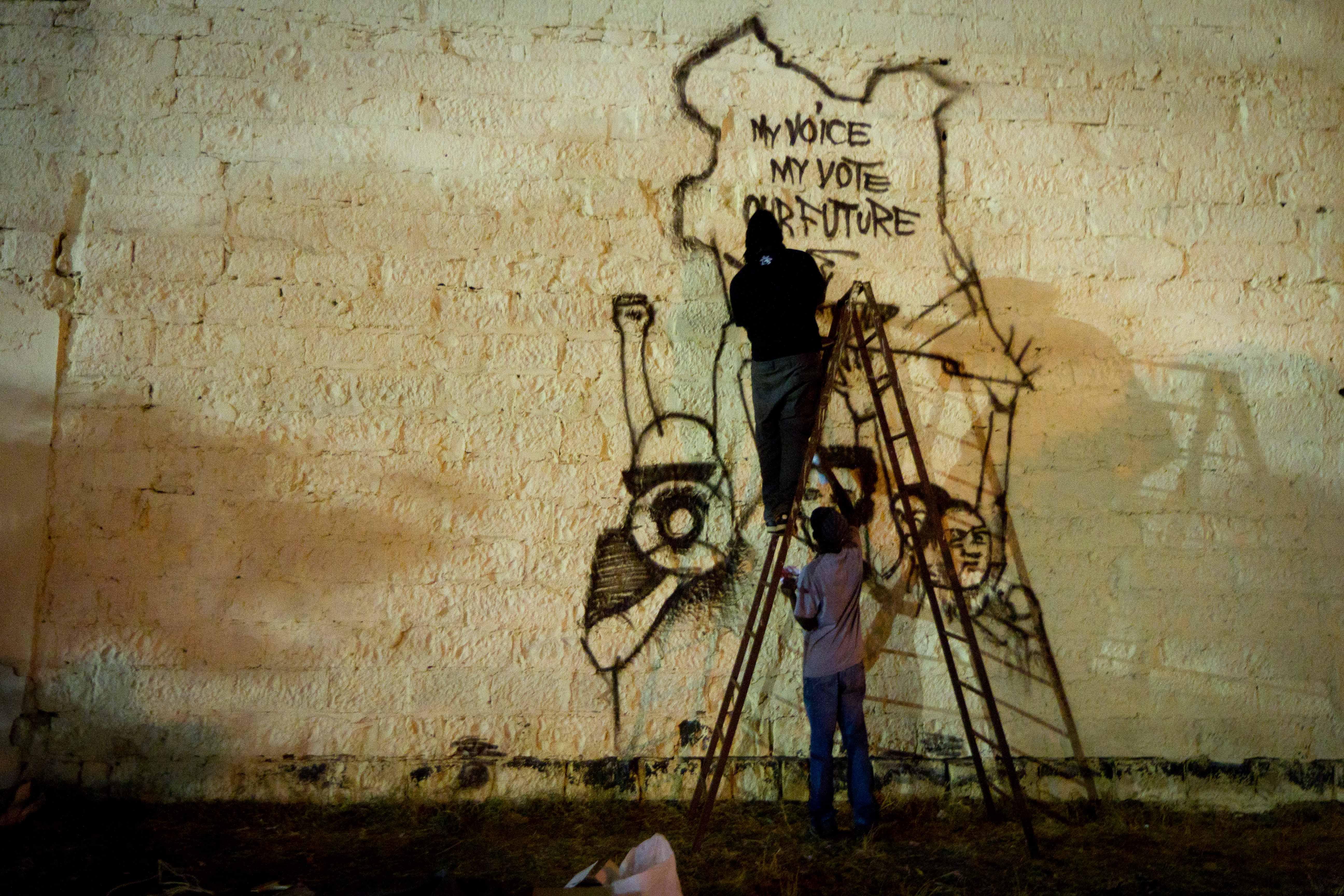 Being A Kenyan Graffiti Artist Takes Balls